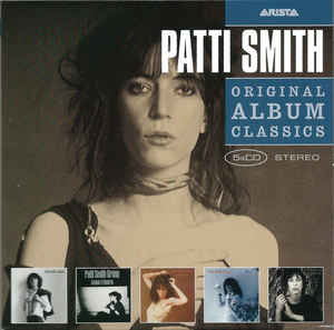 Patti Smith ‎– Original Album Classics  5 x CD, Album, Réédition  Coffret, Compilation