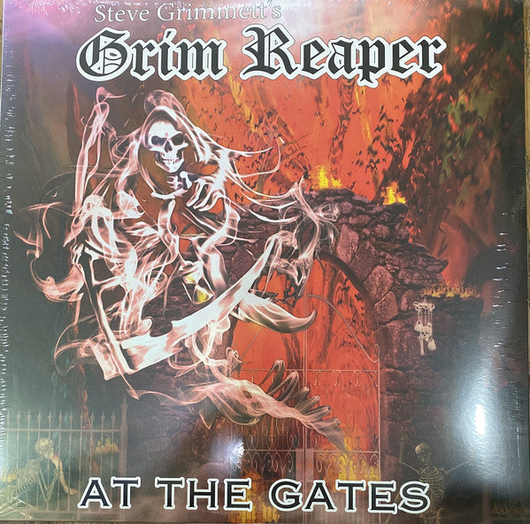 Grim Reaper  ‎– At The Gates