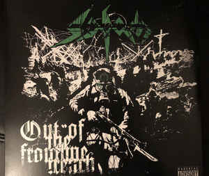 "Sodom ‎– Out Of The Frontline Trench  Vinyle, 12 "", EP, stéréo, vert transparent"