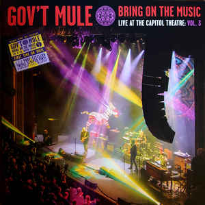 Gov't Mule ‎– Bring On The Music/Live At The Capitol Theatre: Vol. 3  Vinyle, LP, Album, Violet / Jaune, 180 Grammes