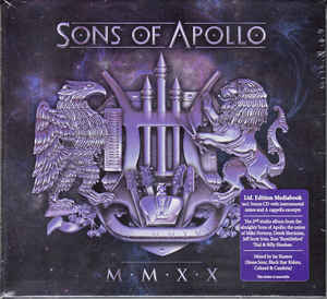 Sons Of Apollo ‎– MMXX  2 x  CD, Album  Édition limitée, Mediabook
