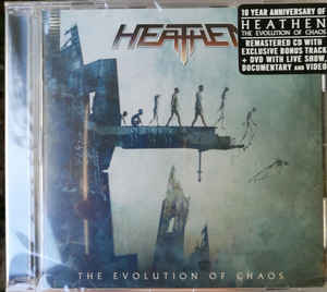 Heathen ‎– The Evolution Of Chaos CD, Album, Réédition + DVD-Video