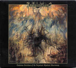 Inquisition ‎– Ominous Doctrines Of The Perpetual Mystical Macrocosm  CD, Album, Réédition, Digipak