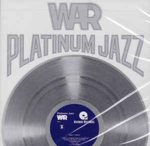 War ‎– Platinum Jazz  CD, Album, Compilation, Réédition, Stéréo