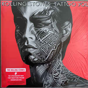 The Rolling Stones ‎– Tattoo You Vinyle, LP, Album, Réédition, Remasterisé, Half-Speed Master. Vinyle 180 grammes.