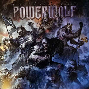 Powerwolf ‎– Best Of The Blessed  2 × Vinyle, LP, Compilation, Edition limitée, Stéréo, Noir