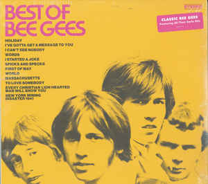 Bee Gees ‎– Best Of Bee Gees  Vinyle, LP, Compilation, Réédition, Stéréo