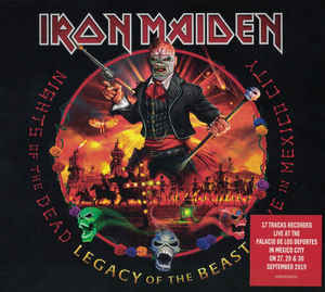 Iron Maiden ‎– Nights Of The Dead, Legacy Of The Beast: Live In Mexico City  2 × CD, Album