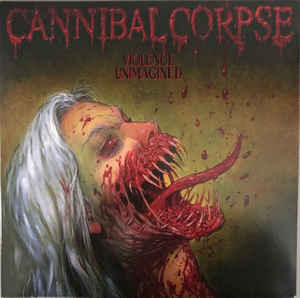Cannibal Corpse ‎– Violence Unimagined  Vinyle, LP, Album, Bone White with Red
