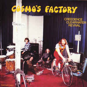 Creedence Clearwater Revival ‎– Cosmo's Factory   CD, Album, Réédition