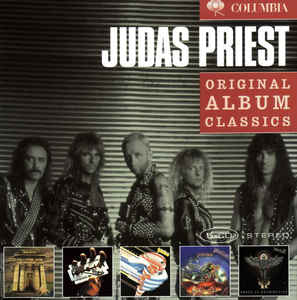 Judas Priest ‎– Original Album Classics  5 x CD, Album, Réédition Coffret, Compilation