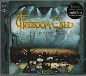 Freedom Call ‎– Live Invasion  2 × CD, Album