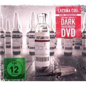 Lacuna Coil ‎– Dark Adrenaline  CD, Album +  DVD-Video, NTSC Digipak
