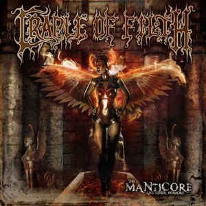 Cradle Of Filth ‎– The Manticore And Other Horrors  2 × Vinyle, LP, Album