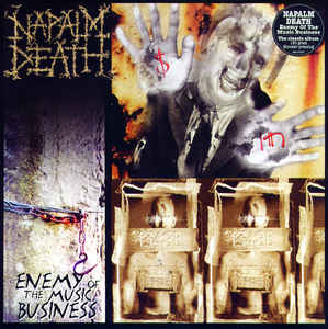 Napalm Death ‎– Enemy Of The Music Business  Vinyle, LP, Album, Réédition