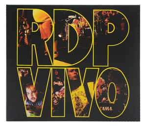 Ratos De Porão ‎– RDP Vivo  CD, Album, Réédition ,Digipak