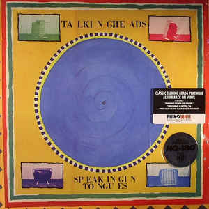 Talking Heads ‎– Speaking In Tongues  Vinyle, LP, Album, Réédition, 180g