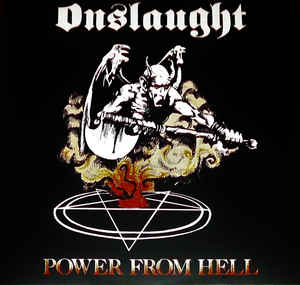 Onslaught  ‎– Power From Hell  Vinyle, LP, Album, Edition limitée, Réédition