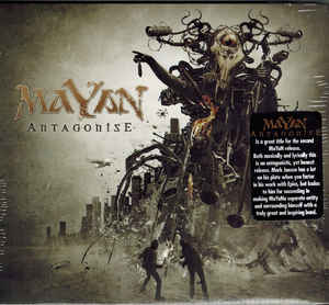 Mayan ‎– Antagonise  CD, Album, Digipack