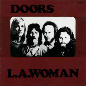 The Doors ‎– L.A. Woman  Vinyle, LP, Album, Réédition