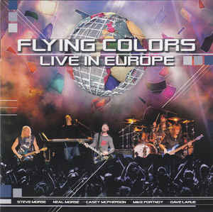 Flying Colors ‎– Live In Europe   2 × CD, Album