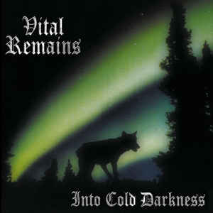Vital Remains ‎– Into Cold Darkness  Vinyle, LP, Album, Réédition, Remasterisé