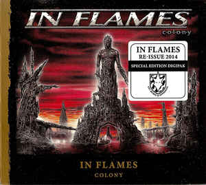 In Flames ‎– Colony  CD, Album, Réédition, Edition Spéciale, Digipak