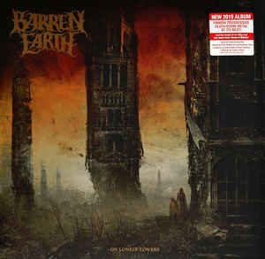 Barren Earth ‎– On Lonely Towers  2 × Vinyle, LP, Album
