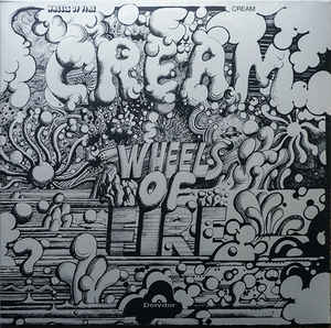 Cream  ‎– Wheels Of Fire  2 × Vinyle, LP, Album, Réédition, 180 Grammes