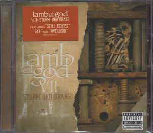 Lamb Of God ‎– VII: Sturm Und Drang  CD, Album