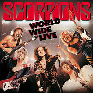 Scorpions ‎– World Wide Live  2 × Vinyle, LP, Album, 180 Grammes + CD, Album