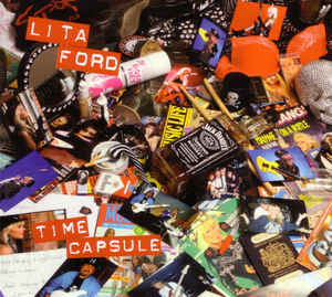 Lita Ford ‎– Time Capsule  CD, Album, Digipak