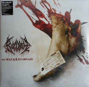 Bloodbath ‎– The Wacken Carnage  2 × Vinyle, LP, Album, 180g