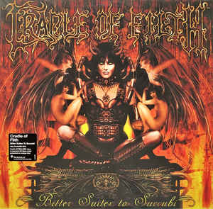 Cradle Of Filth ‎– Bitter Suites To Succubi  Vinyle, LP, EP, Réédition, Orange