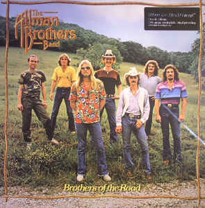 The Allman Brothers Band ‎– Brothers Of The Road  Vinyle, LP, Album, Repress, 180 Grammes