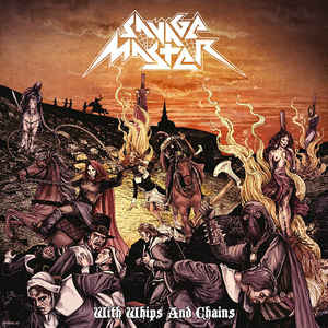 Savage Master ‎– With Whips And Chains Vinyle, LP, Album, Edition limitée, Repress,  Violet translucide