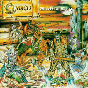 Omen  ‎– Battle Cry  Vinyle, LP, Album, Réédition