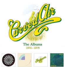 Curved Air ‎– The Albums 1970-1973  4 × CD, Album ,Stereo