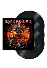 Iron Maiden ‎– Nights Of The Dead, Legacy Of The Beast: Live In Mexico City  3 × Vinyle, LP, Album