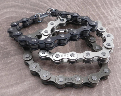 Bike & Ball Chain Bracelets Collection
