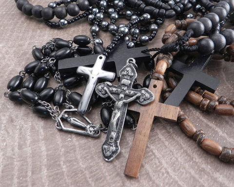Men's Rosary Necklaces