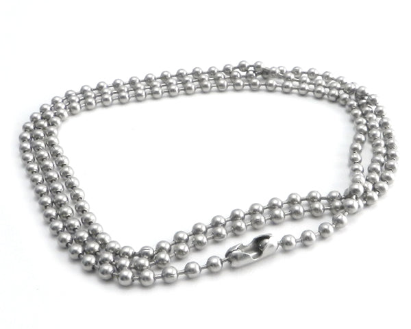 Stainless Steel Ball Chain Necklace  a7c14eca8