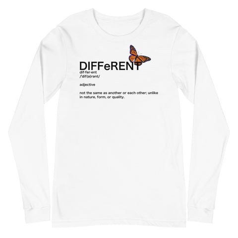 Different Long Sleeve Tee