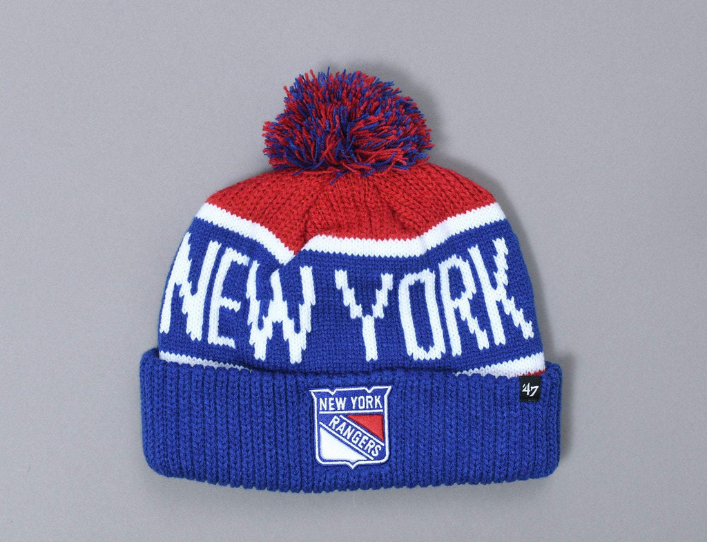 47 Calgary Cuff Knit New York Rangers