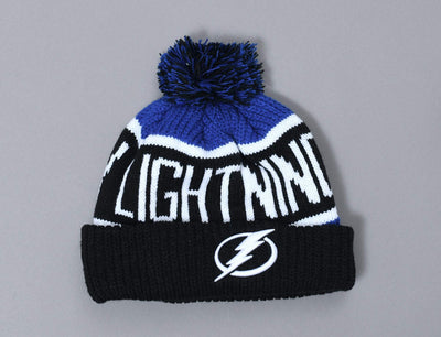 Beanie Bobble 47 Calgary Cuff Knit Tampa Bay Lightning Beanie 47 Bobble Beanie / Blue / One Size