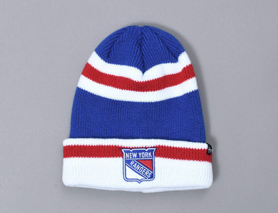 Beanie Cuff 47 Short Side Cuff Knit New York Rangers 47 Cuff Beanie / Blue / One Size