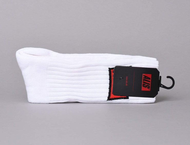 Accessories Socks Alis Classic Sock White Alis
