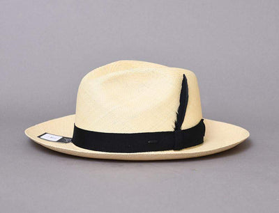 Hat Classic Bailey Loring Natural Panama Hat Bailey