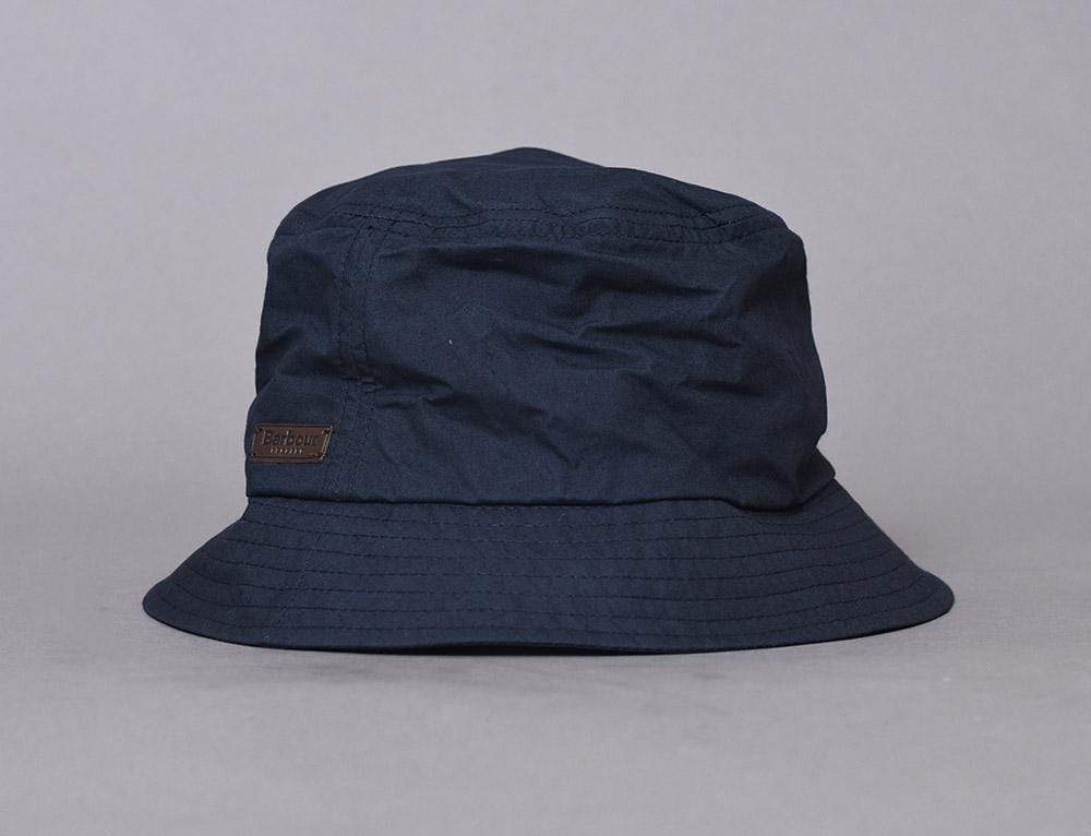 Barbour Irvine Wax Sport Bucket Navy
