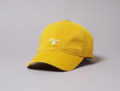 Cap Adjustable Cap Yellow Cascade Sports Cap Barbour Adjustable Cap / Yellow / One Size